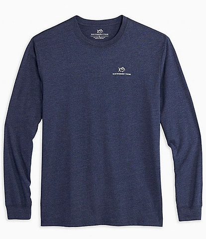 Southern Tide Early Morning Series Heather Long-Sleeve Tee