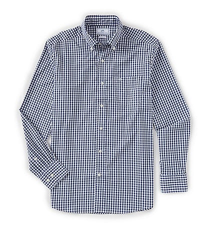 Southern Tide Intercoastal Gingham Long-Sleeve Woven Shirt