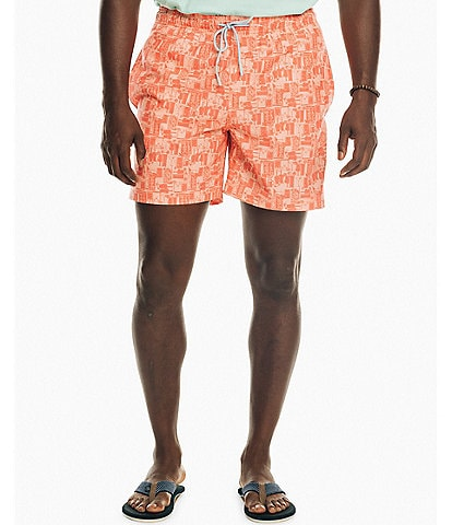 Southern Tide Happy Hour 6#double; Inseam Packable Swim Trunks