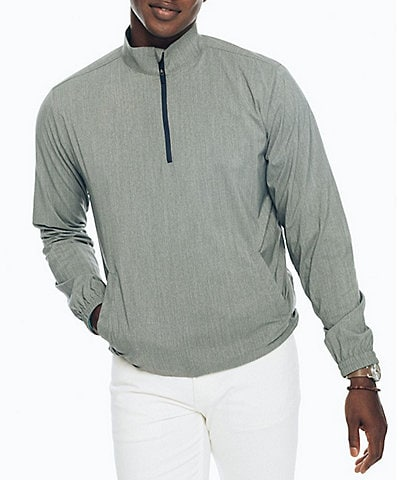 Southern Tide Intercoastal Heathered Quarter-Zip Pullover