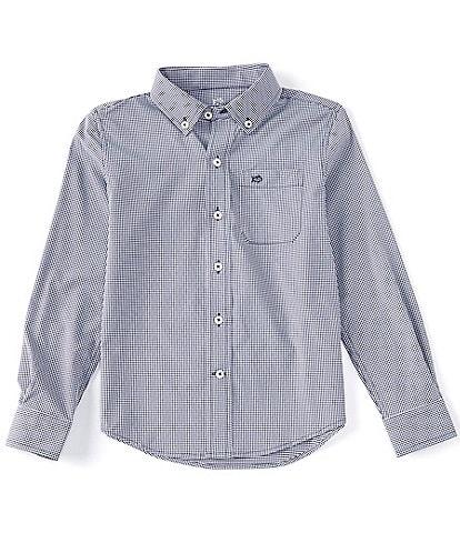 Southern Tide Little/Big Boys 4-16 Long-Sleeve Intercoastal Mini-Gingham Sport Shirt