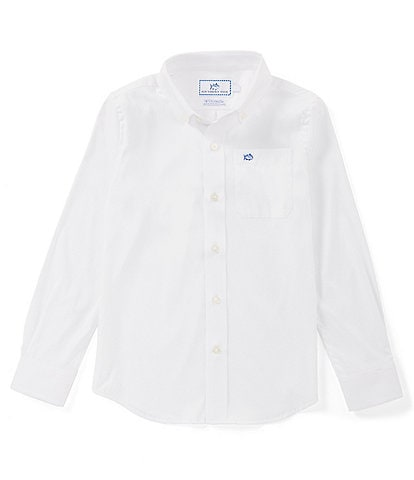 Southern Tide Little/Big Boys 4-16 Long-Sleeve Intercoastal Sportshirt