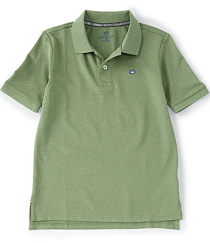 Southern Tide Little/Big Boys 4-16 Short-Sleeve Lil' Jack Heathered Pique Performance Polo