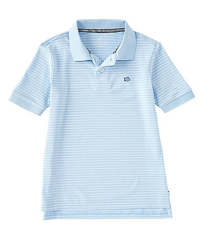 Southern Tide Little/Big Boys 4-16 Short-Sleeve Skipjack Stripe Performance Polo Shirt