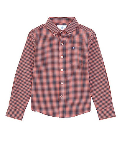 Southern Tide Little/Big Boys 4-20 Long-Sleeve Check Sport Shirt