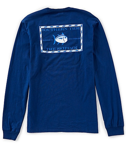 Southern Tide Original Skipjack Graphic Long-Sleeve Tee