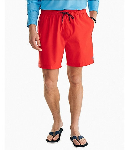 Southern Tide Solid 6#double; Inseam Swim Trunks