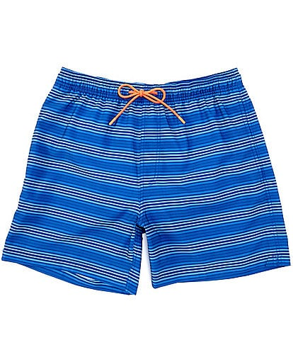 Southern Tide Vista Stripe 6#double; Inseam Packable Swim Trunks