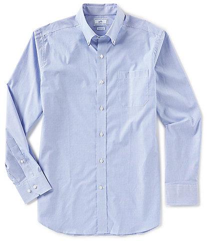 Southern Tide Wedgewood Stripe Long-Sleeve Woven Shirt