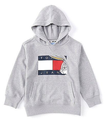 Space Jam x Tommy Hilfiger Little Boys 2T-7 Bugs Bunny Pollover Hoodie