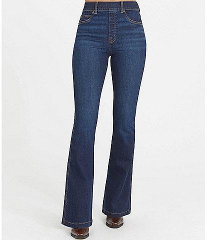 Spanx Flare Leg High Rise Stretch Jeans