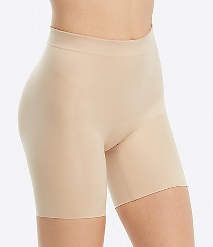 Spanx Plus Size Suit Your Fancy Booty Booster Mid-Thigh Shaper