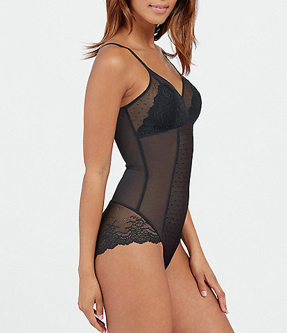 Spanx Plus Spolight on Lace Panty Bodysuit
