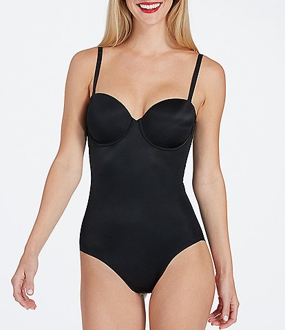 Spanx Suit Your Fancy Strapless Cupped Panty Bodysuit