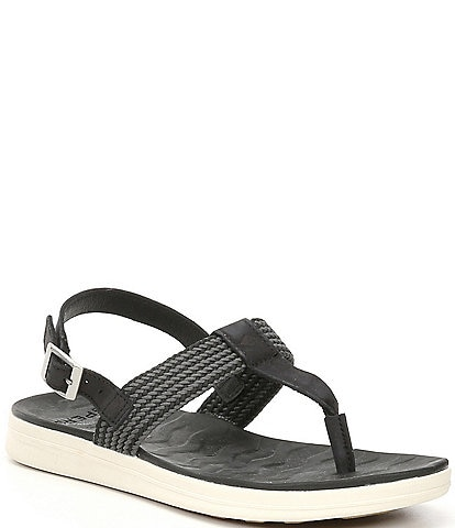 Sperry Adriatic Leather Thong Sling Sandals