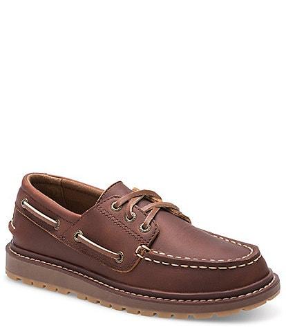 Sperry Boys' A/O Twisted Lug Boat Shoe