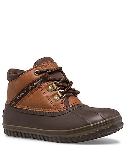 Sperry Boys' Bowline Storm Water Resistant Lace-Up Boots (Youth)