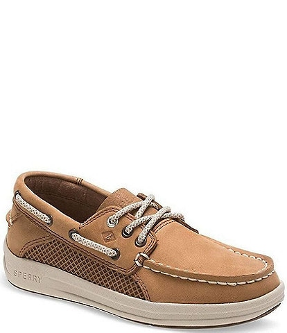 Sperry Boys' Gamefish Leather Boat Shoe