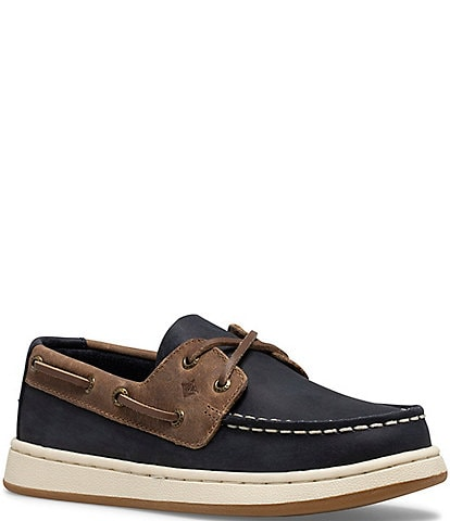 Sperry Boys' Sperry Cup II Leather Boat Shoes (Youth)