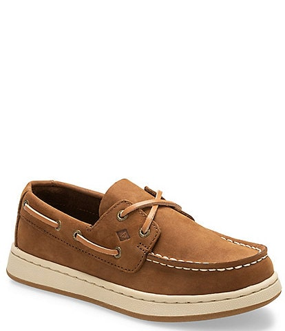 Sperry Boys' Sperry Cup II Leather Boat Shoes Youth
