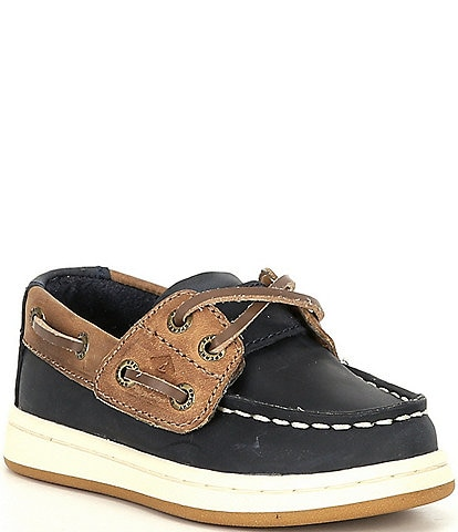 Sperry Boys' Sperry Cup II Leather Jr Boat Shoes (Infant)