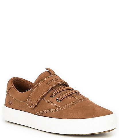 Sperry Boys' Spinnaker Jr Leather Washable Sneakers (Toddler)
