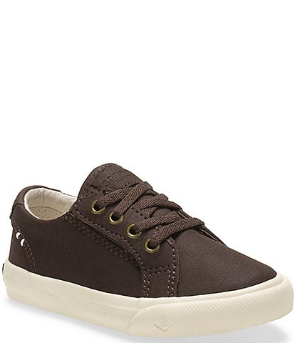 Sperry Kids' Striper II Junior Leather Sneakers Toddler