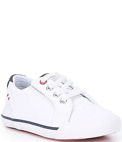 Sperry Kids' Striper II Junior Leather Sneakers (Toddler)