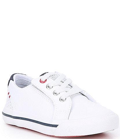 Sperry Boys' Striper II Junior Leather Sneakers (Infant)