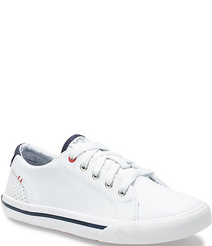 Sperry Kids' Striper II Leather Lace to Toe Sneakers (Youth)