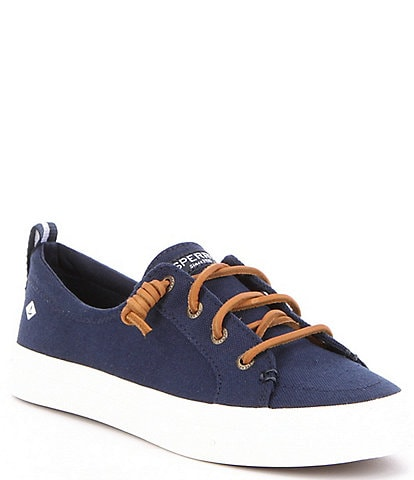 Sperry Crest Vibe Canvas Lace-Up Sneakers
