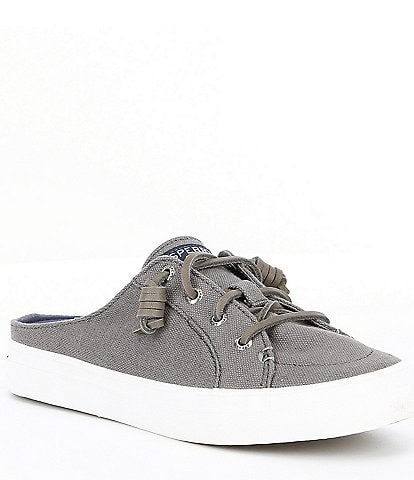 d5da924c9 Sperry Crest Vibe Canvas Mules