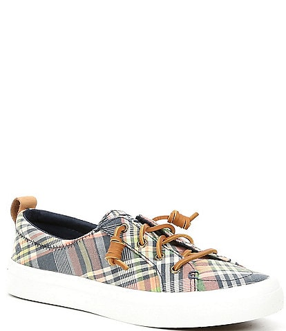 Sperry Crest Vibe Kick Back Plaid Sneakers