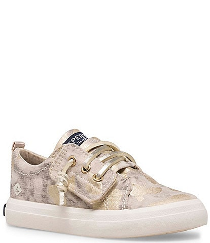 Sperry Girl's Crest Vibe Jr Camo Print Sneakers (Infant)