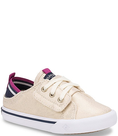 Sperry Girls' Hy-port Jr Canvas Sneakers Infant