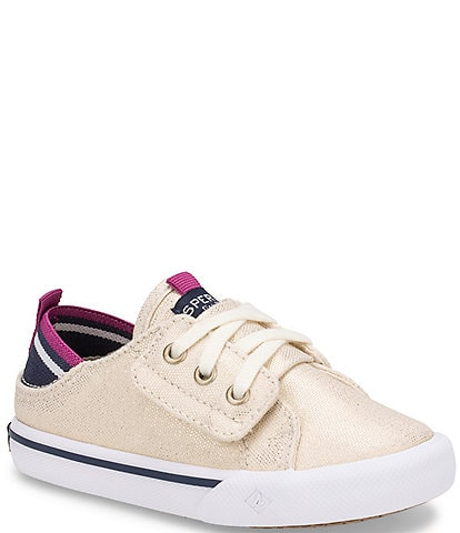 Sperry Girls' Hy-port Jr Canvas Sneakers (Toddler)