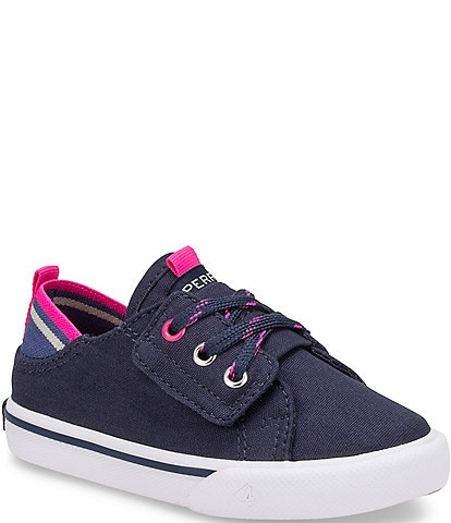 Sperry Girls' Hy-port Jr Canvas Sneakers Toddler