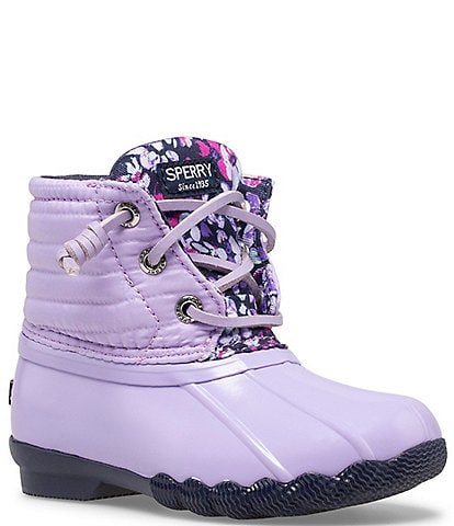 Sperry Girls' Saltwater Water-Resistant Boots (Toddler)