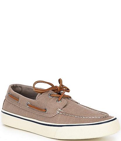 Sperry Men's Bahama II Baja Linen Boat Shoes