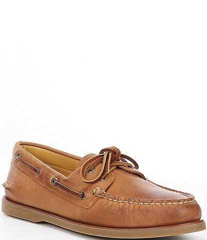 Sperry Men's Gold Authentic Original 2-Eye Boat Shoe