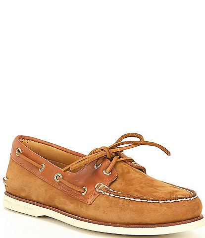 Sperry Men's Gold Cup Authentic Original 2-Eye Freeport Boat Shoes