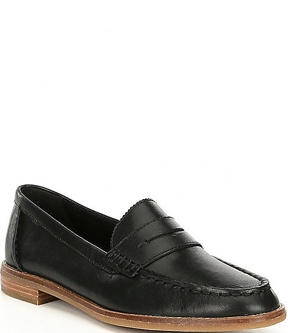 Sperry Seaport Leather Penny Loafers