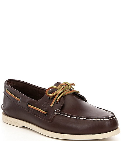 Sperry Men's Top-Sider Authentic Original 2-Eye Leather Boat Shoes