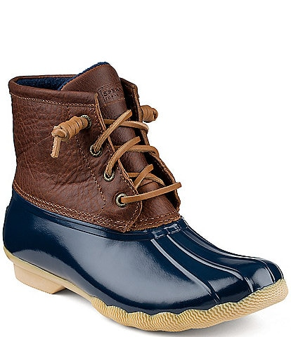 Sperry Top-Sider Saltwater Women's Waterproof Duck Booties