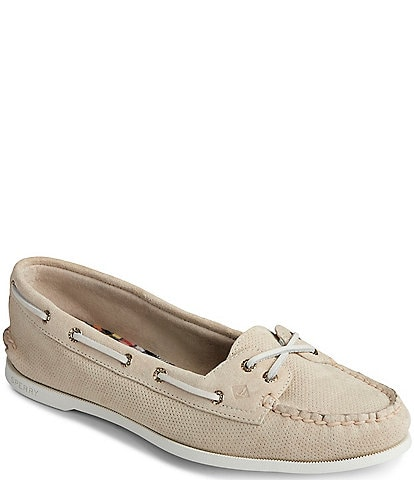 Sperry Women's Authentic Original Skimmer Pin Perf Boat Shoes