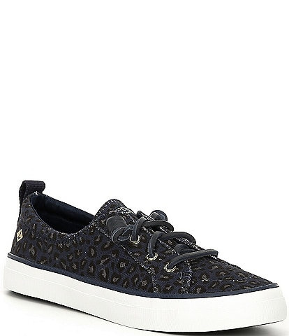 Sperry Women's Crest Vibe Leopard Sneakers