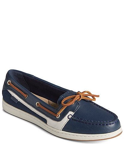 Sperry Women's Starfish 1-Eye Leather Boat Shoes