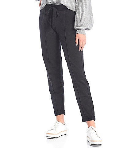 Splendid Ankle Length Banded Hem Coordinating Drawstring Shea Pants
