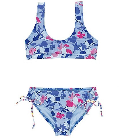 Splendid Big Girls 7-16 Floral Flury Sport Two-Piece Swimsuit