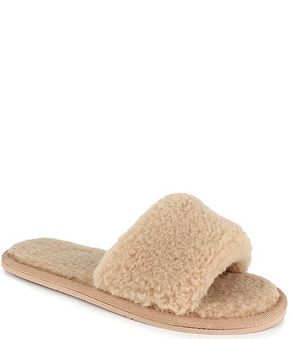 Splendid Carmen Faux Fur Shearling Slides
